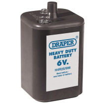 Draper 62866 AT2/1 6 V PJ996 Size Heavy Duty Battery