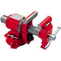 "Clarke CMV140 Multi-Purpose 140mm (5.1/2"") Cast Iron Vice 6501972"