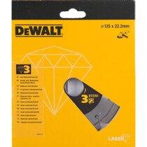 DeWalt DT3761-XJ 125mm Extreme Laser-Welded Diamond Cutting Disc for Hard Concrete and Granite