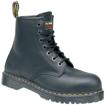 Dr. Martens 6601 Icon Black Leather 7 Eyelet SB Safety Boot