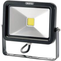 Draper 66033 WMCL20W/B 20W COB LED Wall Mounted Flood Light