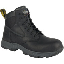 Dr. Martens 6662 Corvid Black Leather S1P SRC HRO Non-Metallic Safety Boot