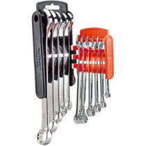 Draper 66093 8238/11/MM/O Hi-Torq® Metric Combination Spanner Set (11 Piece) Orange