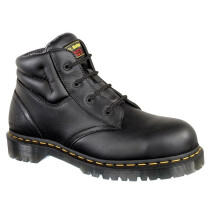 Dr. Martens 6632 Icon SSF Black Leather 4 Eyelet SB-E Chukka Safety Boot