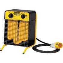 Clarke Devil 3003 2.8kW Electric Fan Heater (110V) 6925125