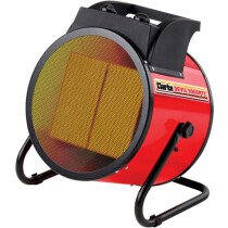 Clarke Devil 9000PTC 9kW Ceramic Fan Heater 400V 3 Phase 6925238