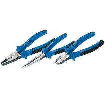 Draper 69289 1071 Expert 3 Piece Heavy Duty Soft Grip Pliers Set