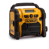 Dewalt DCR020 XR Body Only Compact Jobsite DAB Radio 10.8V, 14.4V, 18V Compatible