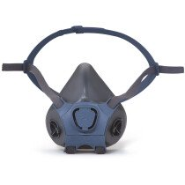 Moldex 700101 Half Mask Series 7000 Body TPE Size Small
