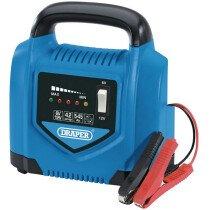Draper 70544 BCP5 6V/12V Battery Charger 5Ah - 45Ah