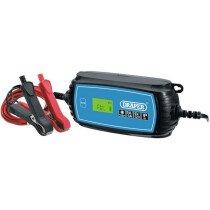 Draper 70545 BCI5 6V/12V Battery Charger 3Ah - 120Ah