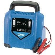 Draper 70546 BCP9 6V/12V Battery Charger 10Ah - 85Ah