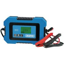 Draper 70547 BCHF10 12V/24V Battery Charger 50Ah - 100Ah
