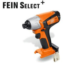 Fein ASCD12-100W4C Select Body Only 12v Impact Driver / Wrench in Case
