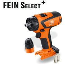 Fein ASCM12 Q Select Body Only 12V 4-Speed Brushless Drill/Driver in Case