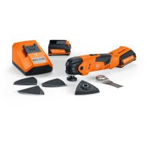 Fein AFMT12SL 12V MultiTalent Start Oscillating Multi Tool with 2x 2.5Ah Batteries in Case