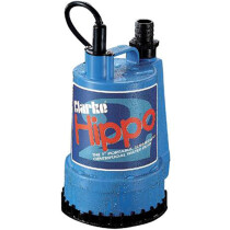 "Clarke Hippo 2 Clean Water 250W 110v 1"" Submersible Water Pump 7230023"