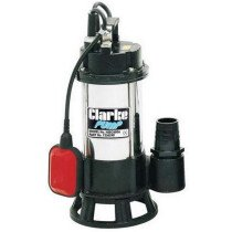 """Clarke HSEC650A 2"""" Industrial Submersible Dirty Water Cutter Pump 230v 7230290"""