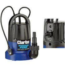 Clarke PSP105 250W 230v Clean Water Puddle Pump with Auto Sensor 7230693