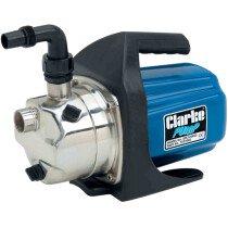 "Clarke SPE1200SS 1"" 1200W Stainless Steel Self Priming Garden Pump 230v 7237002"