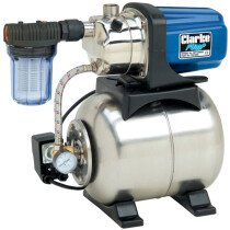 "Clarke BPT1200SS 1"" 1200W Stainless Steel Booster Pump 230v 7237006"