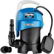 """Clarke DWP300A 1¼"""" 330W 130Lpm 5.5m Head Clean and Dirty Water Submersible 230V 7239220"""