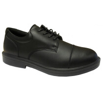 Forma 5070 Executive Apron Black Leather Safety Shoe