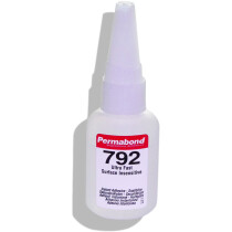 Permabond 792 - 20g Cyanoacrylate 'Superglue' Surface Insensitive Clear Adhesive C792 (Box of 15)