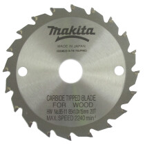 Makita 792623-5 85x11mm 20T Circular Saw Blade - 7926235