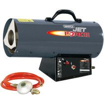 Draper 81033 PSH12 Jet Force, Propane Space Heater (40,000 BTU/12kW)