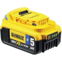 DeWalt DCB184B-XJ 18V 5AH XR Li-ion Tool Connect Bluetooth Battery Pack