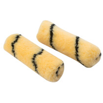 Draper 82549 RS-T-M2 100mm Tiger Stripe Paint Roller Sleeves (Pack Of Two)