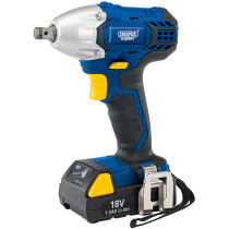 """Draper 83689 CIW18LI Expert 18V Li-ion Cordless 1/2"""" Drive Impact Wrench with Battery and Charger"""