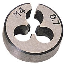 "Draper 83807 SKC2B 13/16"" Outside Diameter 4mm Coarse Circular Die"