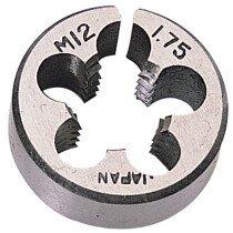 "Draper 83813 SKC2B 1"" Outside Diameter 12mm Coarse Circular Die"