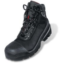 Uvex 8401 Quatro Pro Black S3 SRC Lace-Up Safety Boot