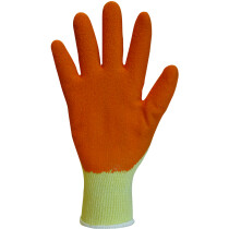 Polyco Reflex-T (Orange) Polycotton Handling Glove With Latex Coating