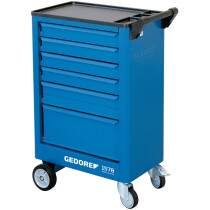 Gedore 9018140 Tool Trolley with 6 Drawers 1578