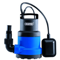 Draper 98912 SWP120A 230V 250W Submersible Water Pump with Float Switch