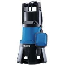 Draper 98919 SWP420 416L/Min Submersible Dirty Water Sub Pump with Float 230V 1300W (Replaces 69690)