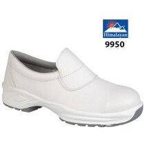 Himalayan 9950 Microfibre Toecap Protection Slip-On Shoe - White - Size 7 - Clearance Size