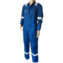 Nomex Flame FR Retardant Anti-Static Coverall Royal Blue 190gr