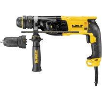DeWalt D25134K 110V 2kg 800W 3-Function 26mm SDS+ Hammer Drill with QC Chuck