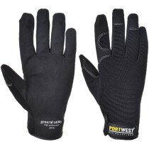 Portwest A700 General Utility – High Performance Glove - Black