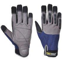 Portwest A720 Impact - High Performance Glove - Grey/Blue