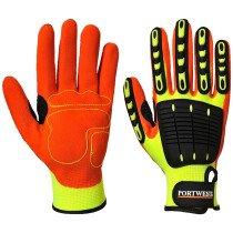 Portwest A721 Anti Impact Grip Glove - Yellow/Orange