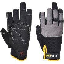 Portwest A740  Powertool Pro - High Performance Glove - Black