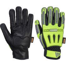 Portwest A762 R3 Impact Winter Glove - Yellow/Black