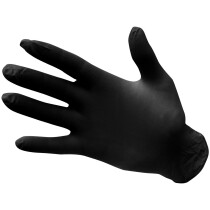 Portwest A925 Powder Free Nitrile Disposable Glove - Size XL - Black - (Pack of 100)