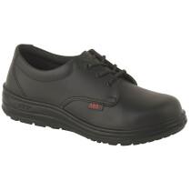 Lawson-HIS ABS181PR UK8 EU42 ABS181PR Ladies Venice Lace-Up Work Shoe - Non-Safety